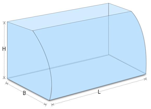 aquarien front vertikal au en gebogen zierfisch zentrum zierfisch zentrum. Black Bedroom Furniture Sets. Home Design Ideas